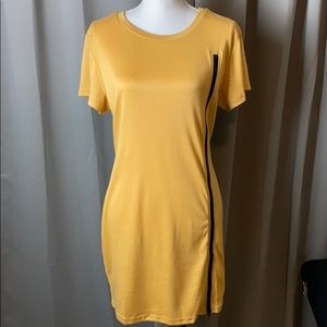 SHEIN XL summer Dress over knees slip on